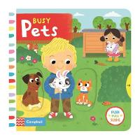 Forshaw, Louise - Busy Pets (Busy Books) - 9781509808953 - V9781509808953