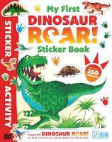 Books, Macmillan Adult's, Books, Macmillan Children's - My First Dinosaur Roar! Sticker Book - 9781509835737 - V9781509835737