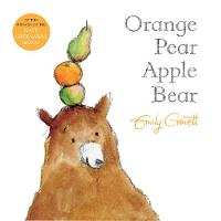 Gravett, Emily - Orange Pear Apple Bear - 9781509836628 - V9781509836628