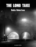 Robertson, Robin - The Long Take - 9781509846887 - V9781509846887