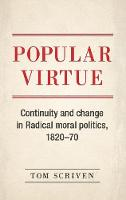 Scriven, Tom - Popular virtue: Political theory and the agency of the colonized - 9781526114754 - V9781526114754