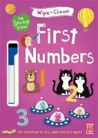 Pat-a-Cake - First Numbers: Wipe-clean book with pen (I'm Starting School) - 9781526380104 - V9781526380104