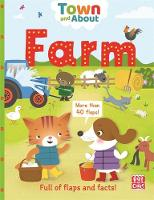 Pat-a-Cake, Gerlings, Rebecca - Farm: A board book filled with flaps and facts (Town and About) - 9781526380272 - V9781526380272
