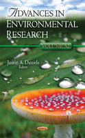 Justin A Daniels - Advances in Environmental Research - 9781536100587 - V9781536100587