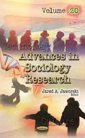 Jaworski, Jared A. - Advances in Sociology Research - 9781536101331 - V9781536101331