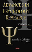 Alexandra M Columbus - Advances in Psychology Research - 9781536101348 - V9781536101348