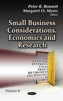 Peter R Bennett - Small Business Considerations, Economics and Research - 9781536102741 - V9781536102741