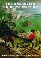 LePan, Don, Babington, Doug, Okun, Maureen - The Broadview Guide to Writing - Sixth Edition - 9781554812189 - V9781554812189