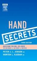 Peter Jebson, Morton Kasdan - Hand Secrets - 9781560536239 - V9781560536239