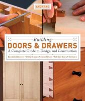 Rae, Andy - Building Doors and Drawers - 9781561588688 - V9781561588688