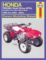 Ahlstrand, Alan; Haynes, J. H. - Honda TRX300 Shaft Drive ATVs Owners Workshop Manual - 9781563924392 - V9781563924392