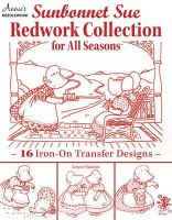Saxton, Loyce - Sunbonnet Sue Redwork Collection: For All Seasons - 9781573675734 - V9781573675734