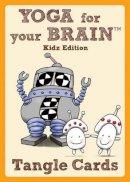 Bartholomew CZT, Sandy Steen - Yoga for Your Brain Kidz Edition: Tangle Cards (Design Originals) - 9781574213584 - V9781574213584