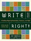 Venolia, Jan - Write Right - 9781580083287 - V9781580083287