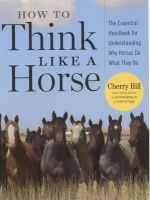 Hill, Cherry - How to Think Like a Horse - 9781580178358 - V9781580178358