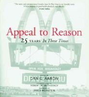 Craig Aaron - Appeal to Reason: The First 25 Years of