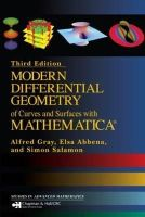 Salamon, Simon; Abbena, Elsa; Gray, Alfred - Modern Differential Geometry Curves and Surfaces with Mathematica - 9781584884484 - V9781584884484