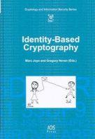M. Joye - Identity-based Cryptography - 9781586039479 - V9781586039479