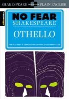 SparkNotes - Spark Notes No Fear Shakespeare Othello (SparkNotes No Fear Shakespeare) - 9781586638528 - 9781586638528