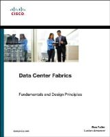 Avramov, Lucien, Portolani, Maurizio - The Policy Driven Data Center with ACI: Architecture, Concepts, and Methodology (Networking Technology) - 9781587144905 - V9781587144905