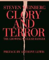 with a preface by Anthony Lewis Steven Weinberg - Glory and Terror: The Growing Nuclear Danger - 9781590171301 - KLN0012751