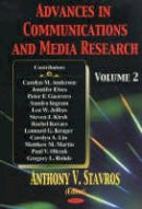 Stavros, Anthony V. - Advances in Communications and Media Research - 9781590336137 - V9781590336137