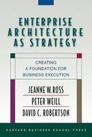 Weill, Peter; Robertson, David C; Ross, Jeanne W. - Enterprise Architecture as Strategy - 9781591398394 - V9781591398394