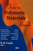 - Focus on Polymeric Materials Research - 9781594548437 - V9781594548437