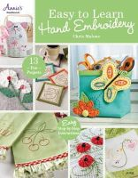Malone, Chris - Easy to Learn Hand Embroidery - 9781596359703 - V9781596359703