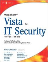 Piltzecker, Anthony - Microsoft Vista for IT Security Professionals - 9781597491396 - V9781597491396