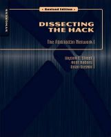 Street, Jayson E.; Nabors, Kent; Baskin, Brian; Carey, Marcus J. - Dissecting the Hack - 9781597495684 - V9781597495684