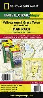 National Geographic Maps - Yellowstone/Grand Teton National Parks, Map Pack Bundle - 9781597754002 - V9781597754002