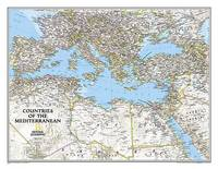 National Geographic Maps - Reference - Countries of the Mediterranean Classic [Tubed] (National Geographic Reference Map) - 9781597755856 - V9781597755856