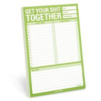Knock Knock Books - Pad: Get Your Shit Together - 9781601066206 - V9781601066206