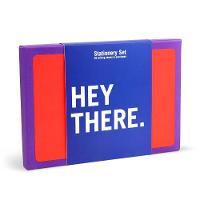 Knock Knock - Knock Knock Hey There Stationery Set - 9781601069573 - V9781601069573