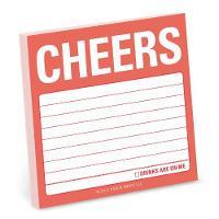 Knock Knock - Cheers Sticky Note - 9781601069726 - V9781601069726