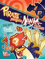 Friesen, Ray - Pirate Penguin vs Ninja Chicken Volume 2: Escape From Skull-Fragment Island! - 9781603093675 - V9781603093675