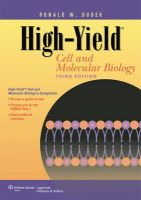 Dudek, Ronald W. - High-yield Cell and Molecular Biology - 9781609135737 - V9781609135737