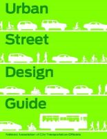 National Association of City Transportation Officials - Urban Street Design Guide - 9781610914949 - V9781610914949