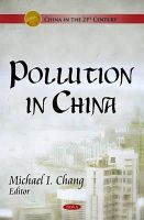 - Pollution in China - 9781611220223 - V9781611220223