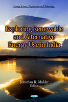 - Exploring Renewable & Alternative Energy Use in India - 9781612096803 - V9781612096803