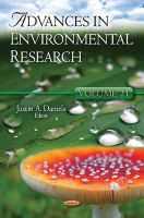 - Advances in Environmental Research - 9781614700074 - V9781614700074