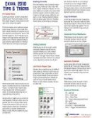 Jelen, Bill - Excel 2010 Laminated Tip Card: Tips and Tricks from MrExcel - 9781615479931 - V9781615479931