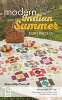 McConnell, Sherri - Modern Indian Summer Quilt Pattern: Finished Quilt: 73