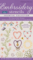 Christen Brown - fast2markTM Embroidery Stencils - Essential Collection: 90+ Easy-to-Mark Designs - Endless Combinations • Perfect for Crazy Quilting • Accurate Stitches & Spacing Eve - 9781617453175 - V9781617453175