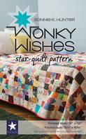 Hunter, Bonnie K. - Wonky Wishes Star-Quilt Pattern - 9781617453526 - V9781617453526