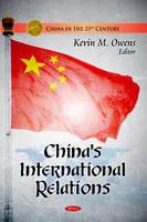 - China's International Relations - 9781617615061 - V9781617615061