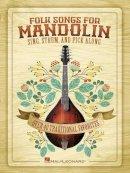 Westfall, Bobby - Folk Songs for Mandolin - 9781617804168 - V9781617804168