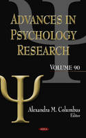 Columbus, Alexandra - Advances in Psychology Research - 9781619423398 - V9781619423398