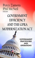 - Government Efficiency & the GPRA Modernization Act - 9781619424272 - V9781619424272